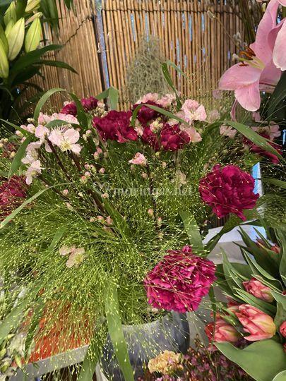 Bouquet aérée
