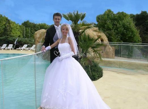 Pose des mariés