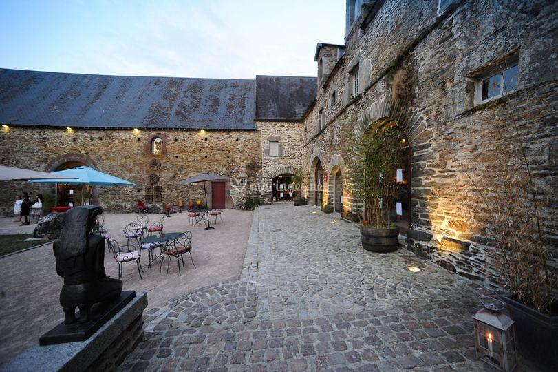 Façade de la Ferme du Château