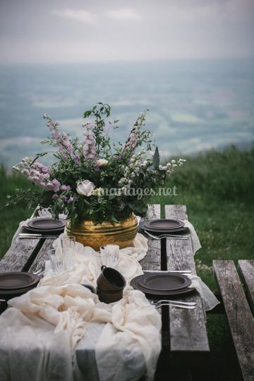 Table simple mariage