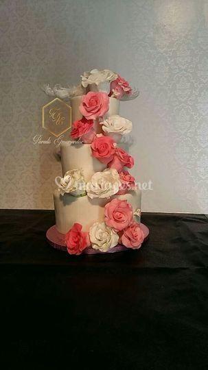 Wedding cake création