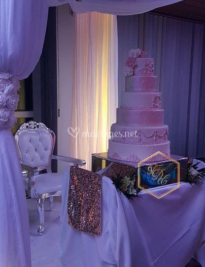Wedding cake haut gamme