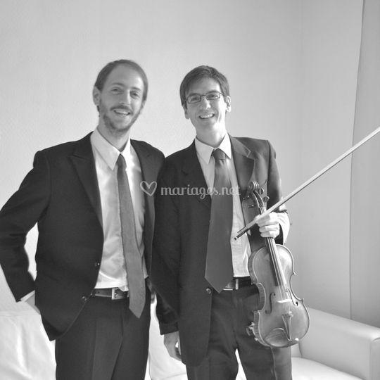 Two-for-tea violon piano mariage