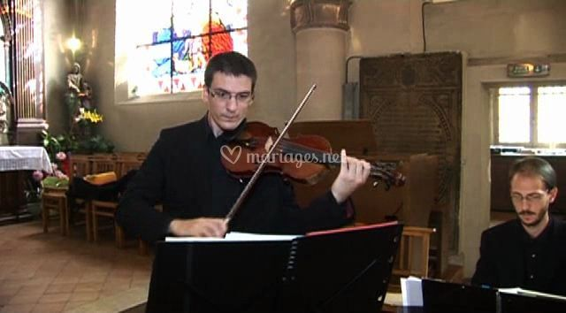 Animation musicale violoniste