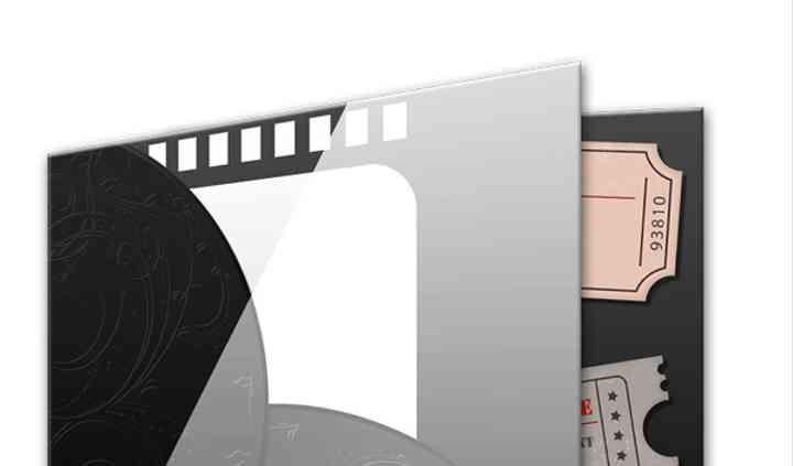 Faire-part classic Cinéma