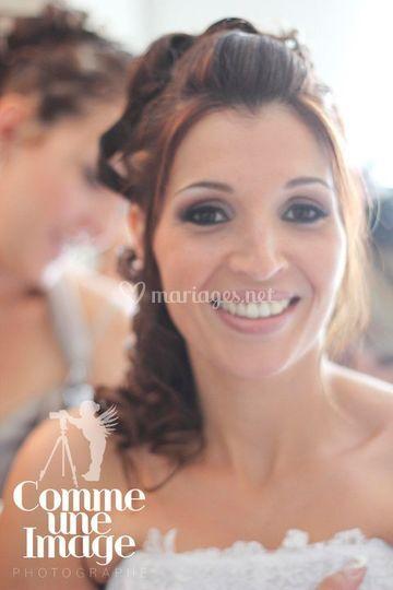 Sourire mariée