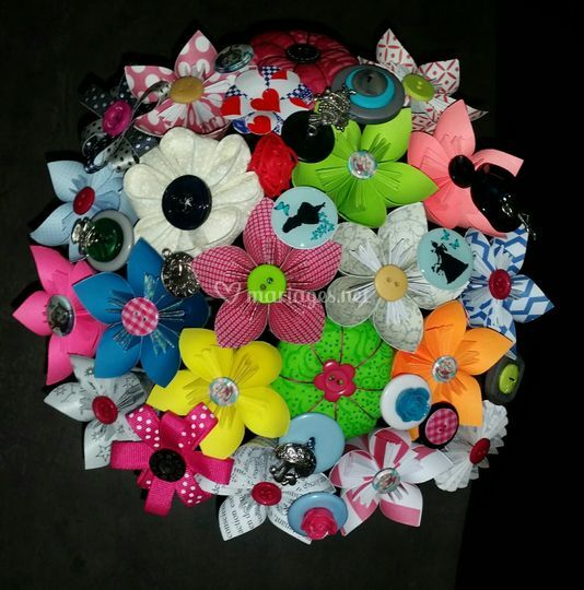 Bouquet Tim Burton multicolore