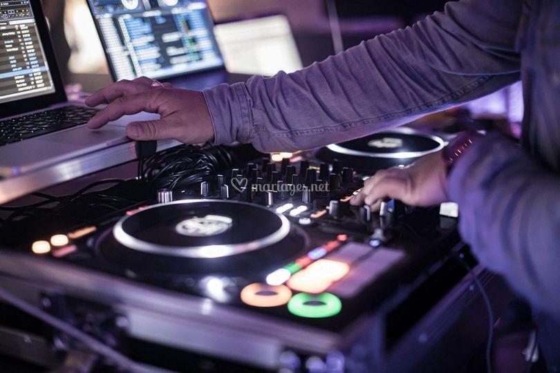 Mix en live