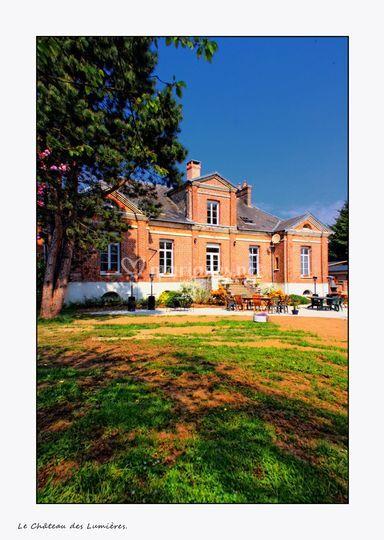 Le chateau des Lumieres