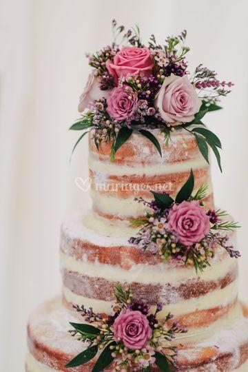Décoration Wedding cake