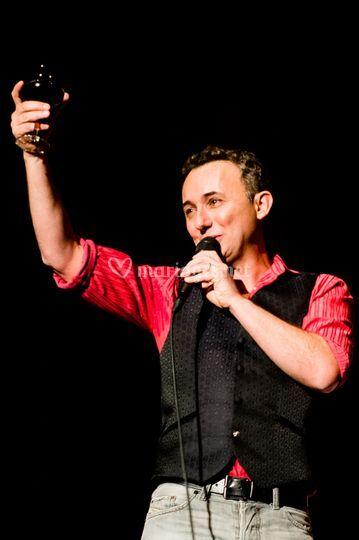 Jean-Renaud sur scène