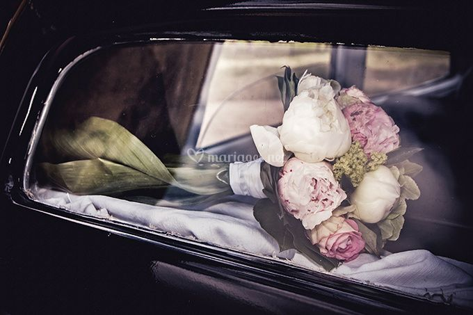 Reportage Mariage, bouquet