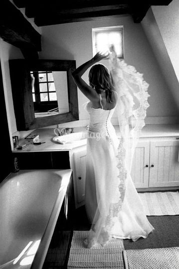 Reportage Mariage, Voile