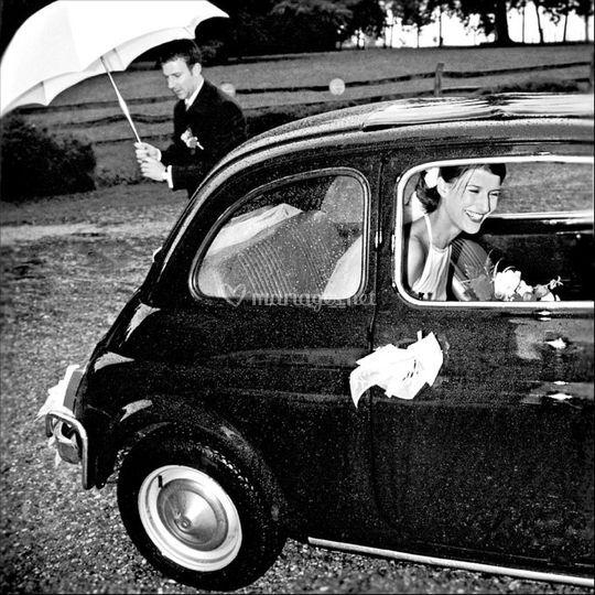Reportage Mariage, En Fiat 500