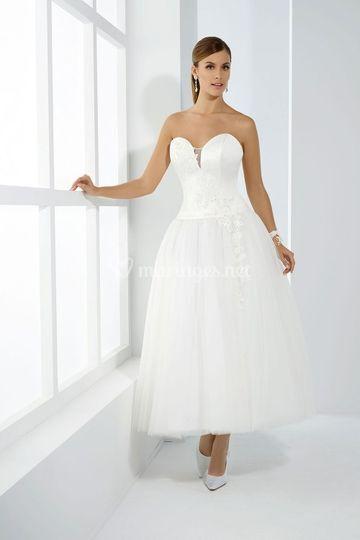 Robe blanche t44