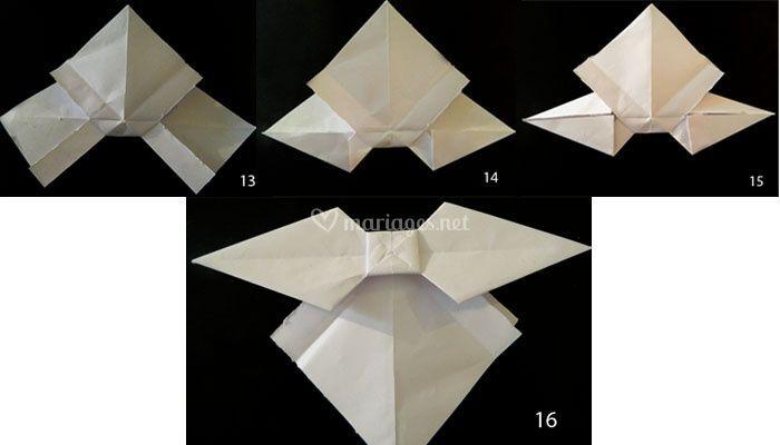 origami tutoriel noeud