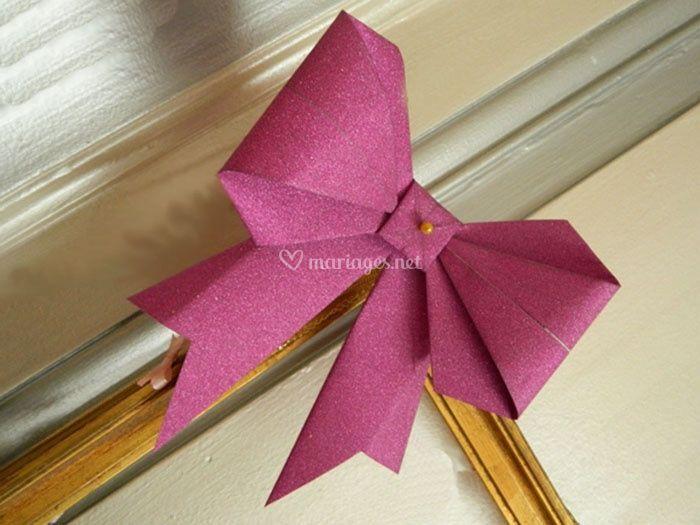 tuto origami noeud papillon
