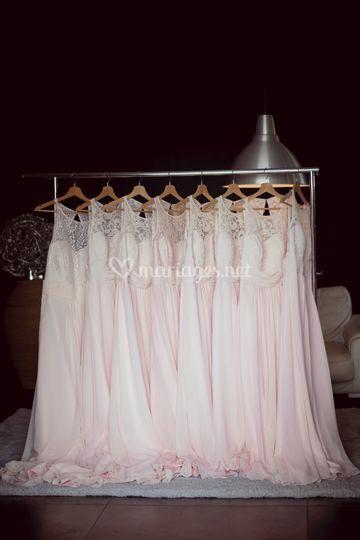 Robes demoiselles d'honneur