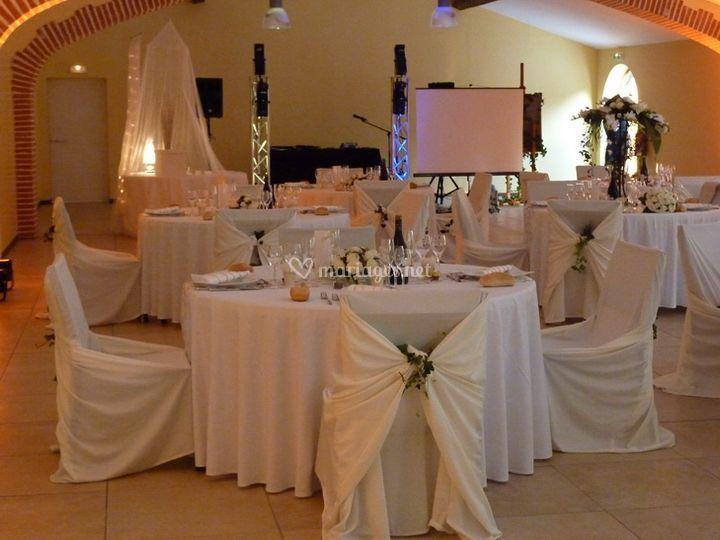 Tables de banquet