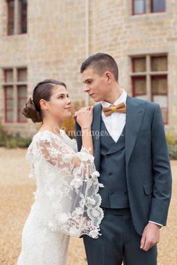 Couple habillé sur-mesure