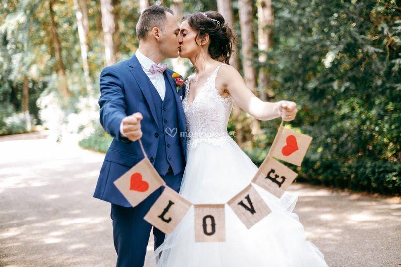 Love session couple paris