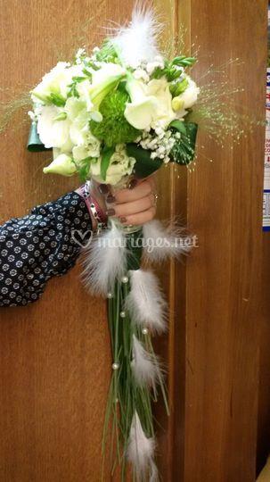 Bouquet de mariée 07/2016