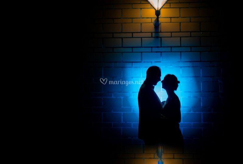 Mariés silhouette