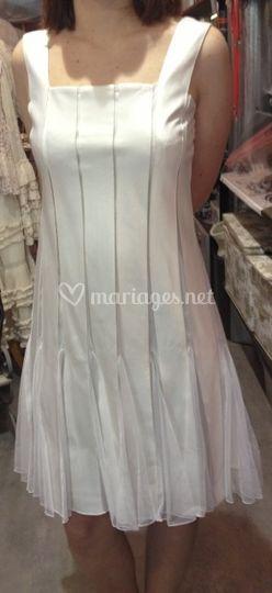 Superbe robe ivoire
