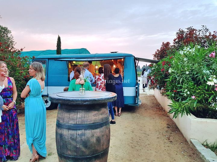 Food truck corse mariage