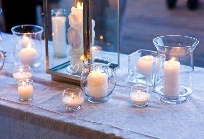 Bougies En Tous Genres Pour La Décoration Du Mariage
