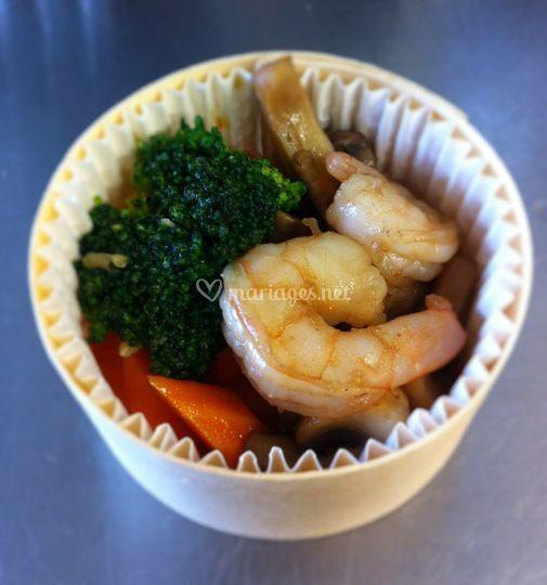 Mini plat chaud  boîte épicea