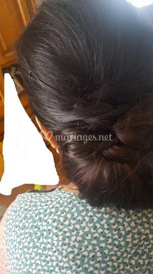 Cheveux de mariee
