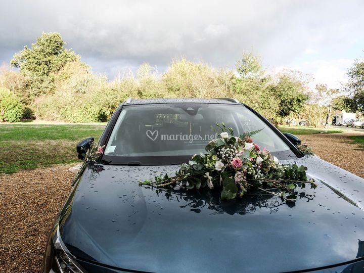 Le carrosse des mariés !