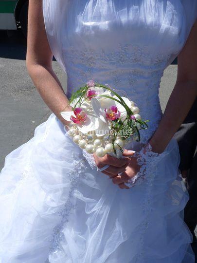 Bouquet de mariée Perle