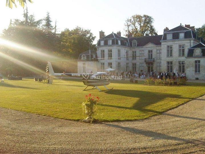 Château d'Auvillers entrée