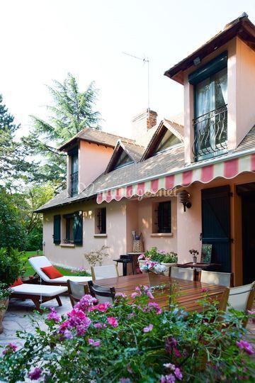 Côté terrasse privative