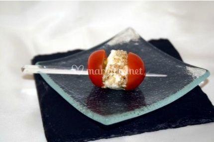 Brochette de tomate cerise