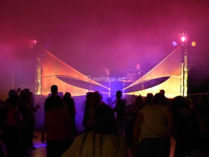 Scène DJ intérieur