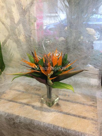 Bouquet porte alliances