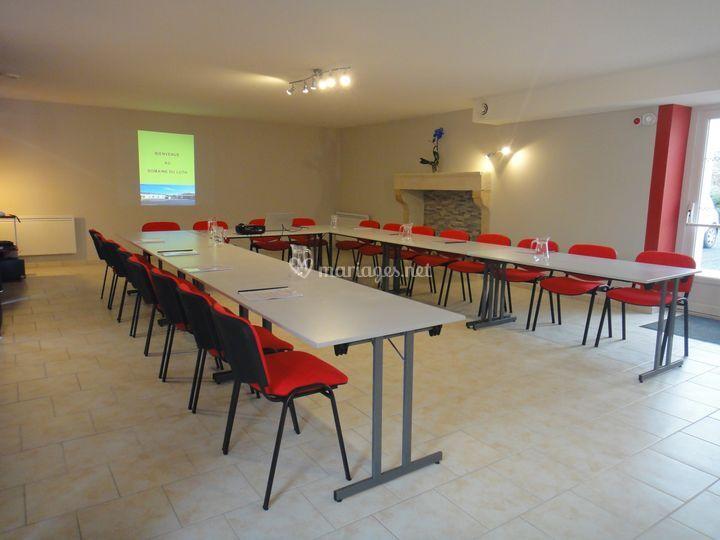 Salle réception pour séminaire