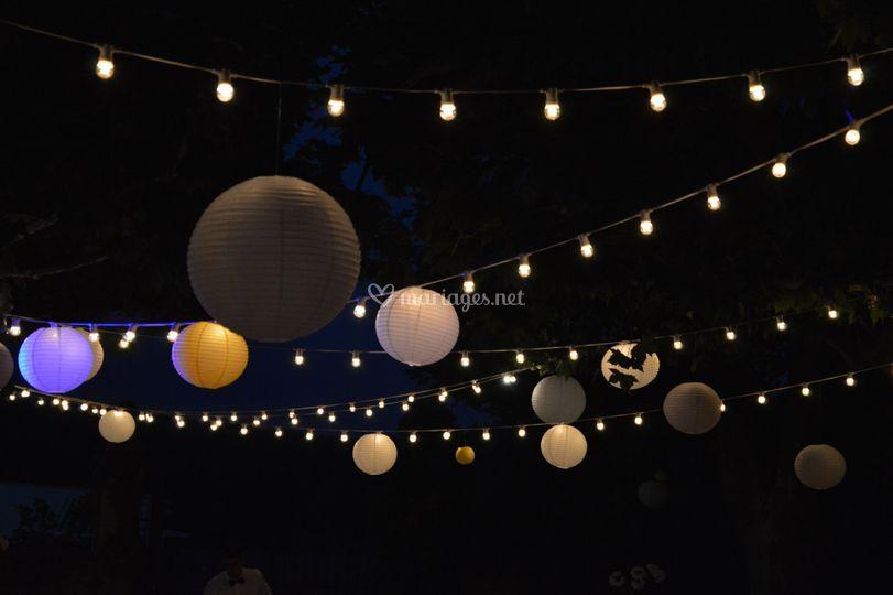 Décoration LED de nuit