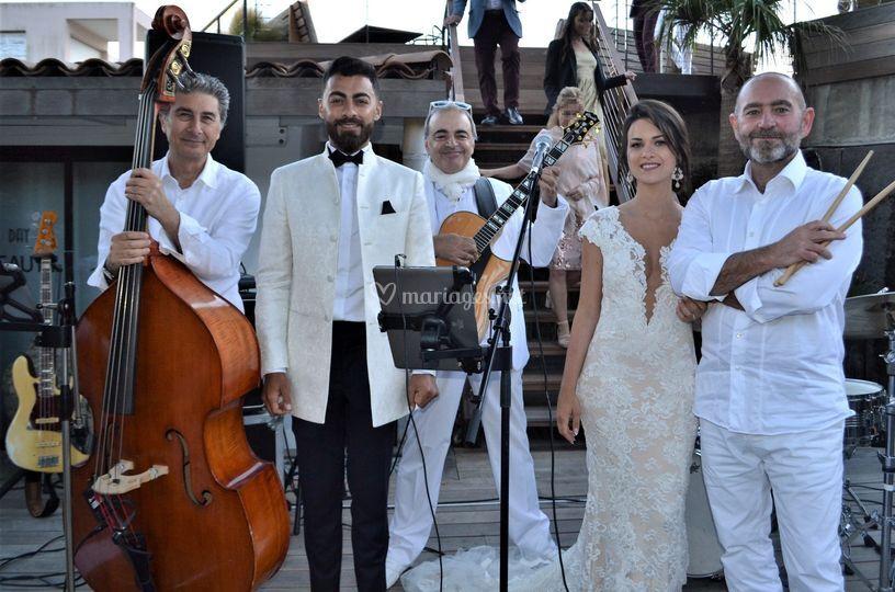 Cocktail mariage - St Tropez
