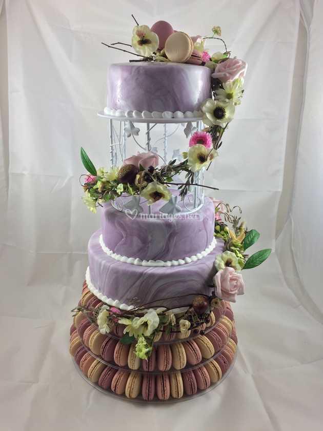 Wedding Cake Champetre De Mon Beau Gateau Photo 8