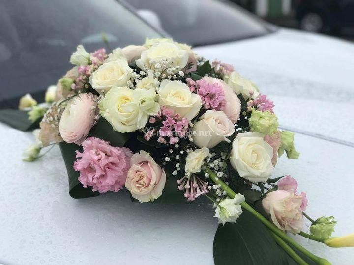 Exemple de décoration florale