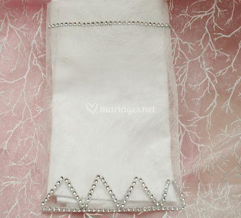 Pochette pour serviette de table