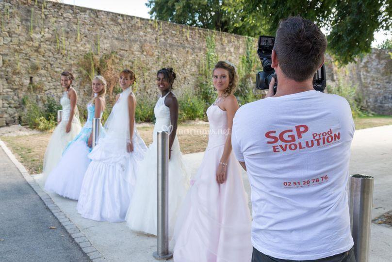 Le défilé des mariées