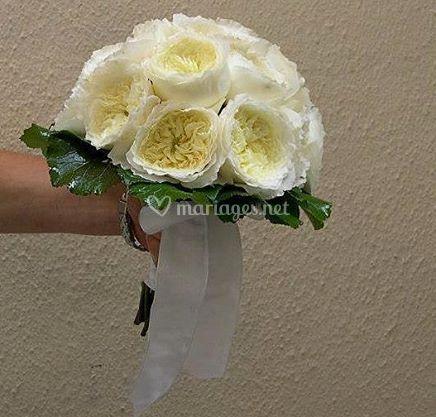 Bouquet en roses Davis Austin