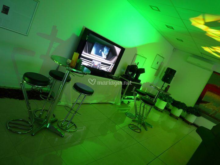 Eclairage et video pour entreprise