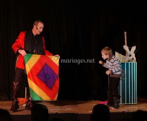 Magie avec enfant