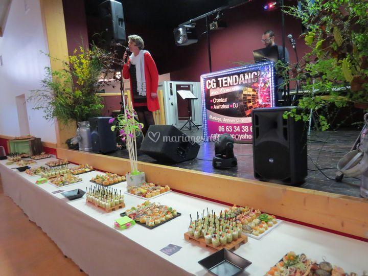 Présentation de buffets
